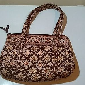 Vera Bradley Purse. Zip up. One out side pocket